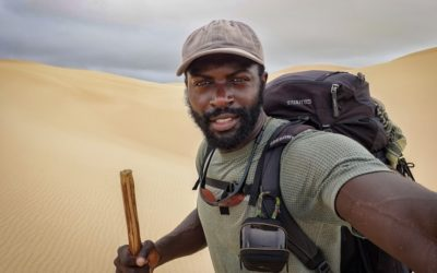 16. Mario Rigby – 12,000km crossing of Africa