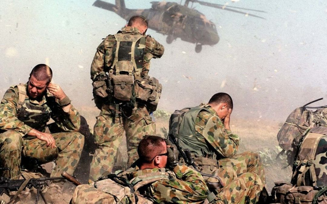 31. Mark Mathieson: the psychology of soldiers and the impact of combat